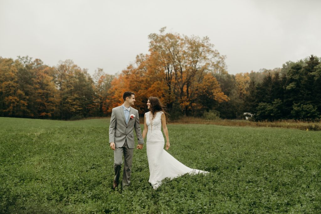 Northern Michigan Rainy Elopement by Steph Pickard Photo