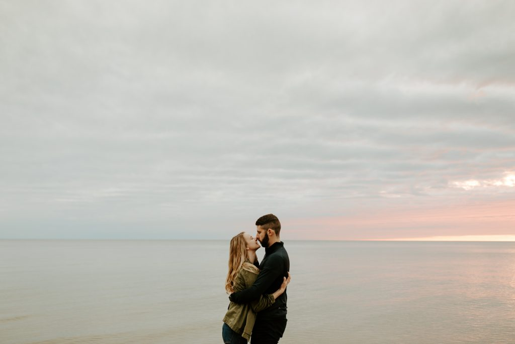 Rosy Mound Michigan Engagement Session