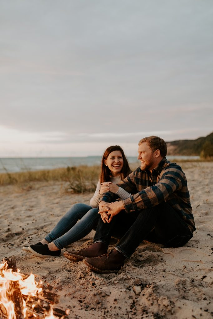 Empire Bluffs engagement session