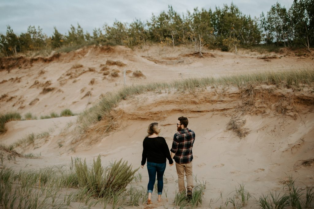 Sleeping Bear Dunes Engagement Session