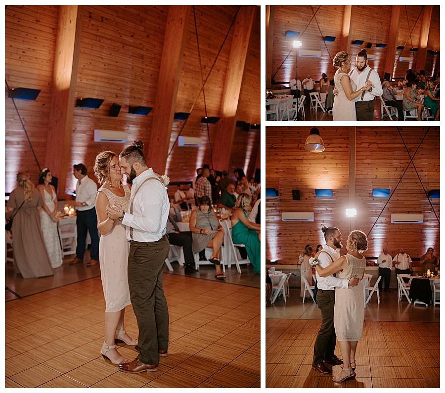 Michigan summer wedding at Indian Springs Metropark