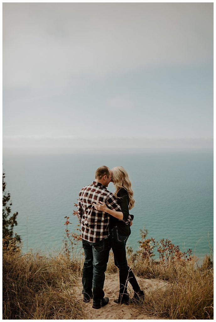 Empire Bluffs Engagement Couples Session