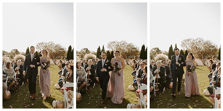 Michigan Fall Wedding at Fox Hills