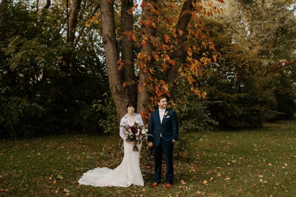 Michigan Fall Wedding at Fox Hills